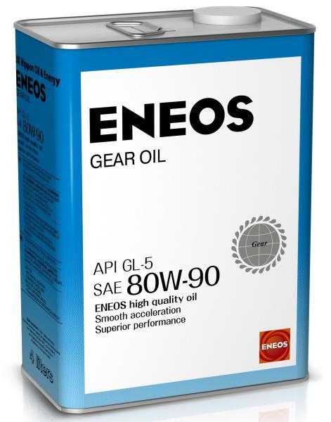 Масло трансмиссионное ENEOS GEAR GL-5 80W90 4л oil1376 купить в Абакане