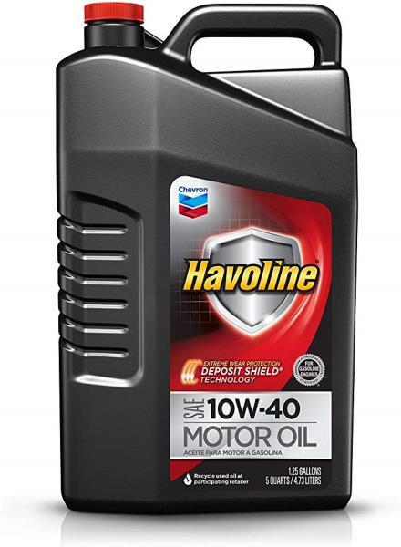 Моторное масло Масло моторное полусинтетическое - HAVOLINE M / O SAE 10W-40 4.73 л. 223396485 купить в Абакане