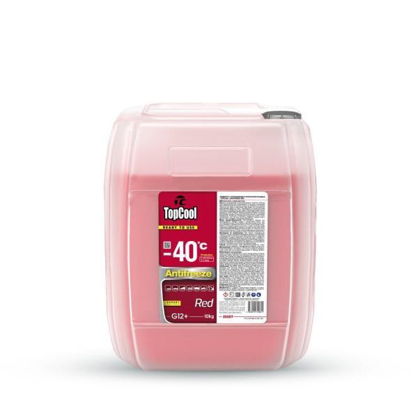 Жидкость охлаждающая TopCool Antifreeze Red -40 C 10кг. (красный) Z0057 купить в Абакане