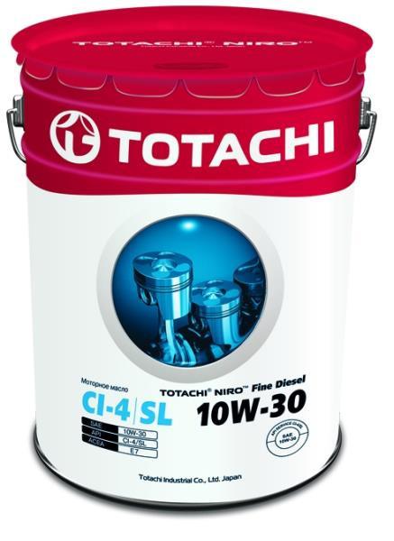 Моторное масло Масло моторное TOTACHI NIRO Fine Diesel CI-4 / SL минерал. 10W-30 18, 98л / 16, 5 4589904921568 купить в Абакане