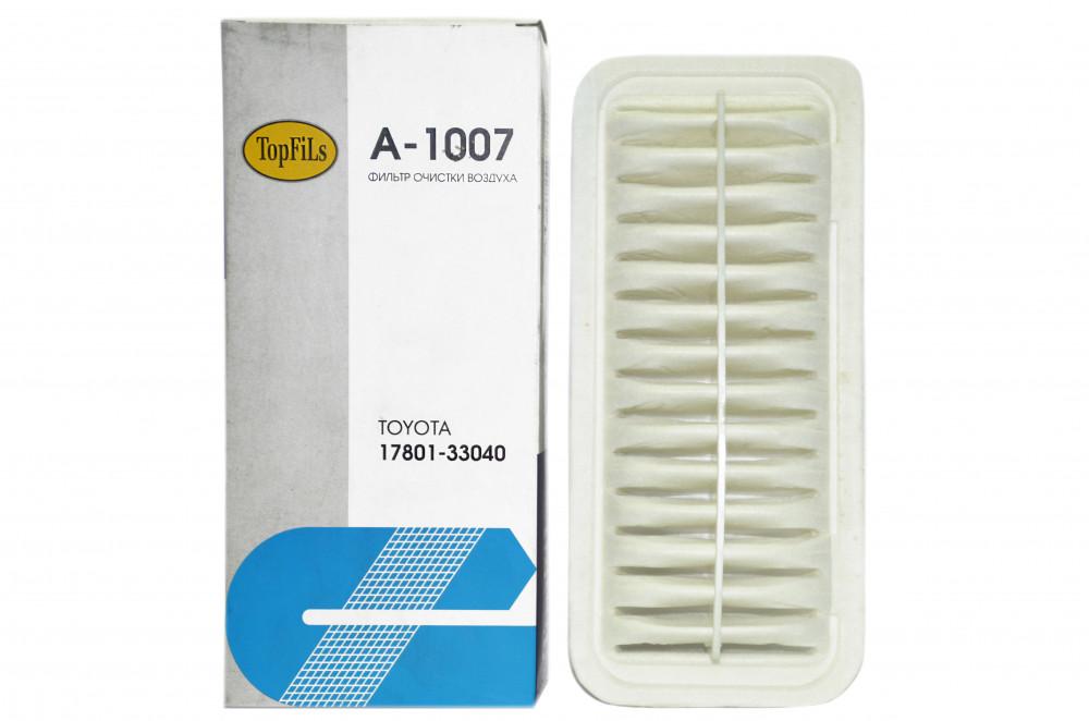 Фильтр воздушный TOP FILS A-1007 17801-33040 A-1007 купить в Абакане