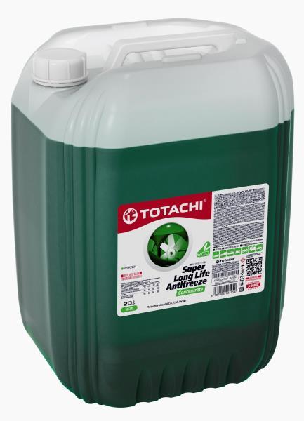 Концентрат охлаждающей жидкости TOTACHI SUPER LONG LIFE ANTIFREEZE Green 20л 4589904925054 купить в Абакане