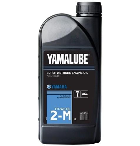 Моторное масло Yamalube 2-M TC-W3 RL Marine Mineral Oil (1 л) 90790BG20500 купить в Абакане