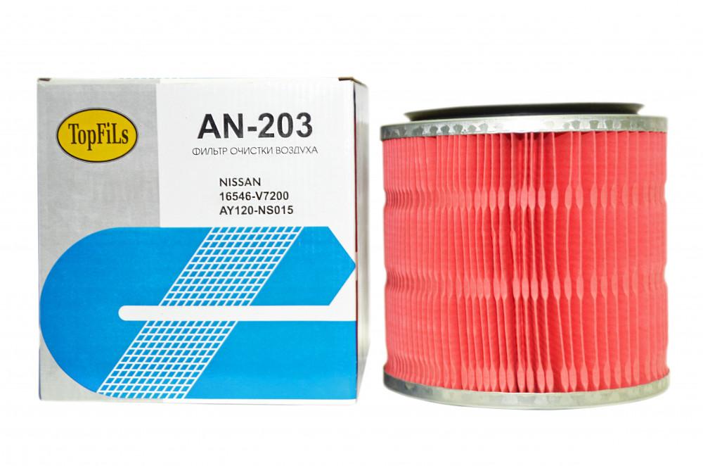 Фильтр воздушный TOP FILS AN-203 16546-V7200 AN-203 купить в Абакане