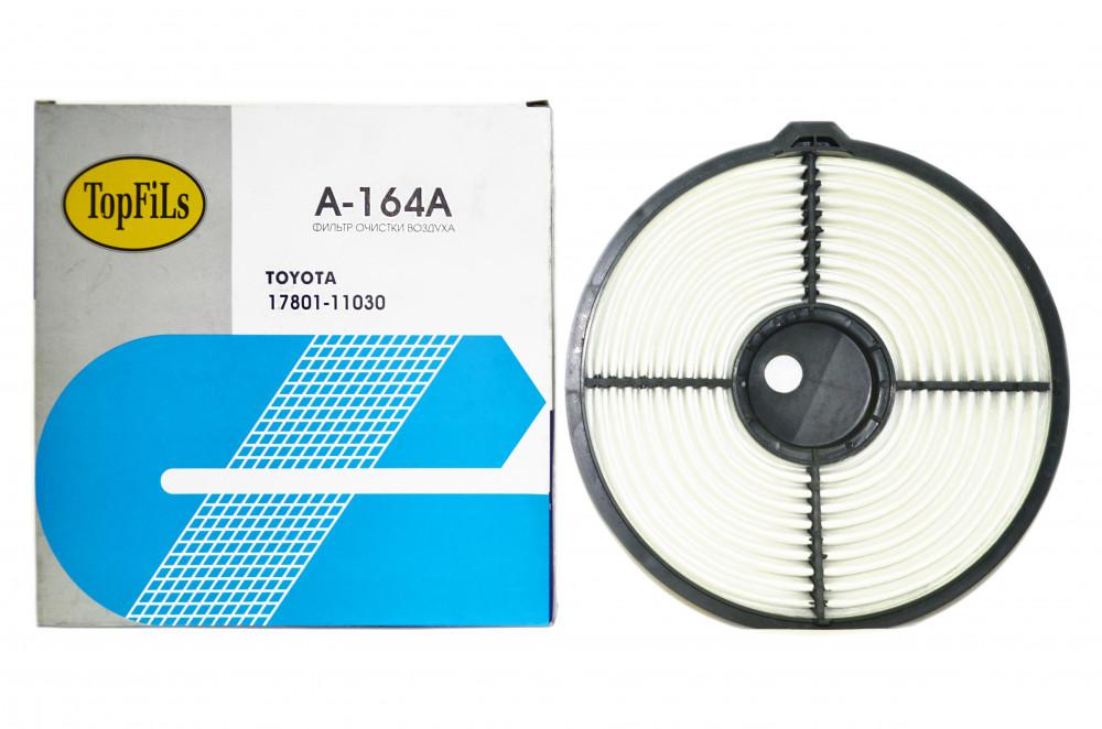 Фильтр воздушный TOP FILS A-164 A 17801-11030 A-164A купить в Абакане