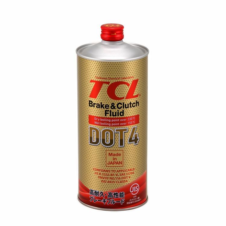Тормозная жидкость TCL DOT4, 1л 00833 купить в Абакане