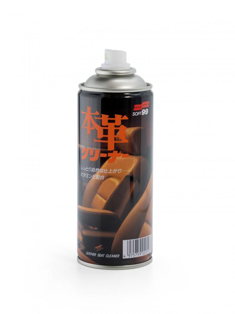 Очиститель кожи Soft99 Leather Cleaner мусс, 300 мл 02052 купить в Абакане