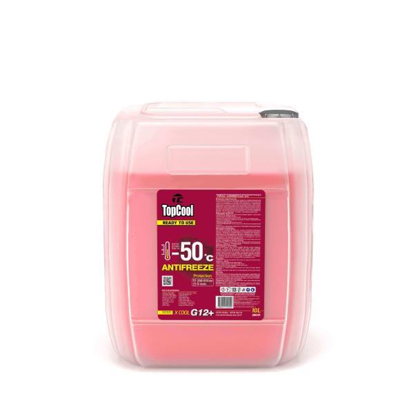 Жидкость охлаждающая TopCool Antifreeze Х cool -50 C 10л. (розовый) G12+ Z0039 купить в Абакане