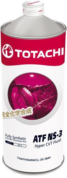 Жидкость для вариатора TOTACHI ATF NS-3 синт. 1л 4589904921513 купить в Абакане