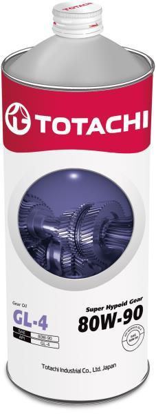 Масло трансмиссионное TOTACHI Super Hypoid Gear GL-4 псинт 80W90 1л 4562374691834 купить в Абакане