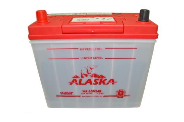 Аккумулятор ALASKA MF 234 / 127 / 220, 45А / ч, ССА 430А, Обслуж-й, Прям. 55B24R calcium + 8808240010474 купить в Абакане