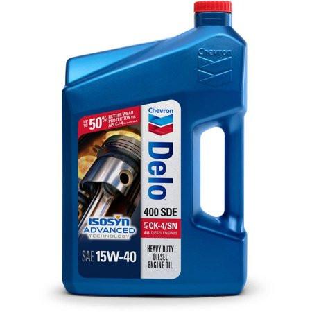 Моторное масло Универсальное Моторное Масло CHEVRON DELO 400 SDE 15W40 CK-4 / SN 3.785 л. 222290388 купить в Абакане