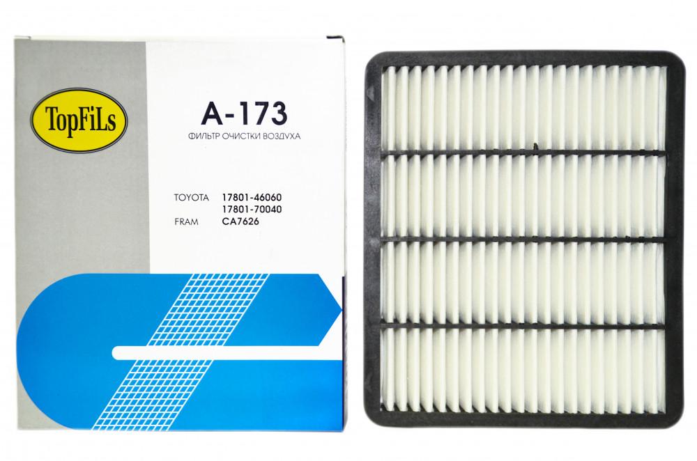 Фильтр воздушный TOP FILS A-173 17801-46060 A-173 купить в Абакане