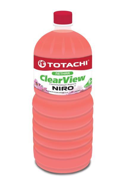 Омывающая жидкость TOTACHI NIRO CLEAR VIEW SUMMER 1, 7л 4589904921872 купить в Абакане