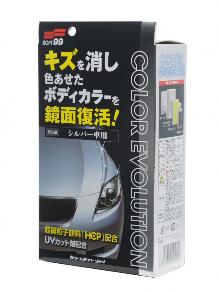 Полироль для кузова цветовосстанавливающий Soft99 Color Evolution White Pearl для белых и перламутровых, 100 мл 00501 купить в Абакане