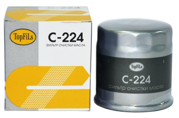 Фильтр масляный TOP FILS C-224 15208-65F00 C-224 купить в Абакане