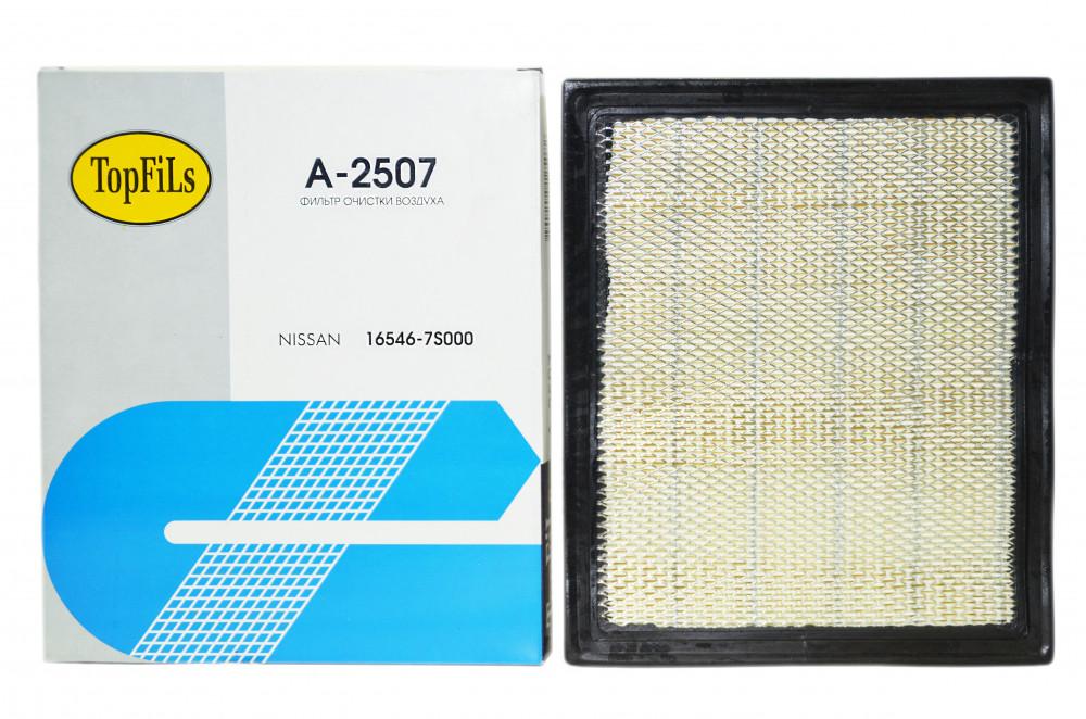 Фильтр воздушный TOP FILS A-2508 / 2507 16546-7S000 A-2508 купить в Абакане