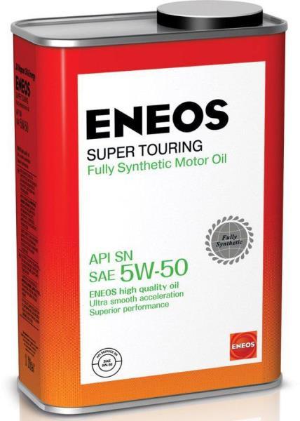 Моторное масло Масло моторное ENEOS Super Touring SN Синтетика 5W-50 1л 8809478941714 купить в Абакане