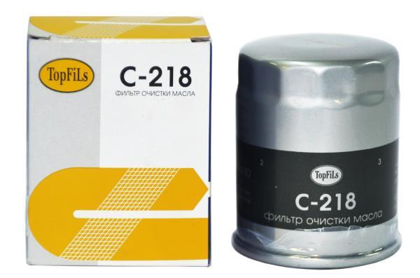 Фильтр масляный TOP FILS C-218 15208-53J00 C-218 купить в Абакане
