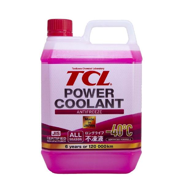 АНТИФРИЗ TCL POWER COOLANT -40C красный, длительного действия, 2 л PC2-40R купить в Абакане