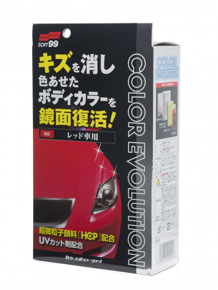 Полироль для кузова цветовосстанавливающий Soft99 Color Evolution Red для красных, 100 мл 00505 купить в Абакане