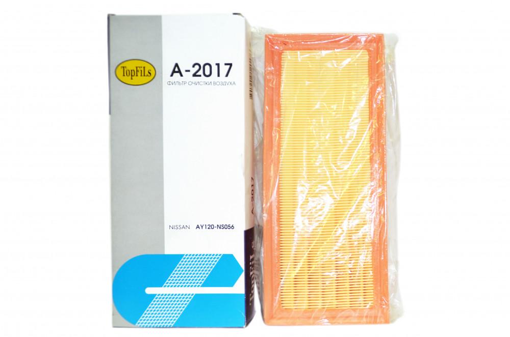 Фильтр воздушный TOP FILS A-2017 AY120-NS056 A-2017 купить в Абакане
