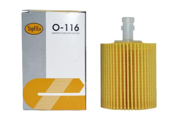 Фильтр масляный TOP FILS O-116 04152-31060 O-116 купить в Абакане