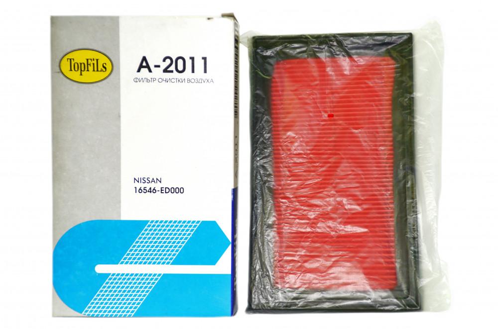 Фильтр воздушный TOP FILS A-2011 16546-ED000 A-2011 купить в Абакане