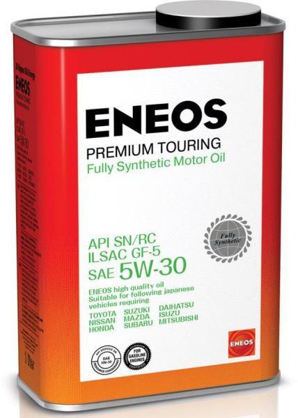 Моторное масло Масло моторное ENEOS Premium TOURING SN 5W-30 1л 8809478942193 купить в Абакане