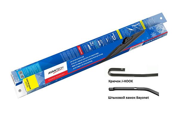 Щетка стеклоочистителя зимн. Avantech Snowguard 300мм ( 12'' ) S-12 купить в Абакане