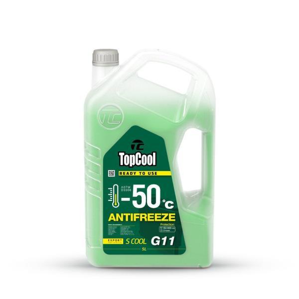 Жидкость охлаждающая TopCool Antifreeze S cool -50 C 5л. G11 Z0024 купить в Абакане