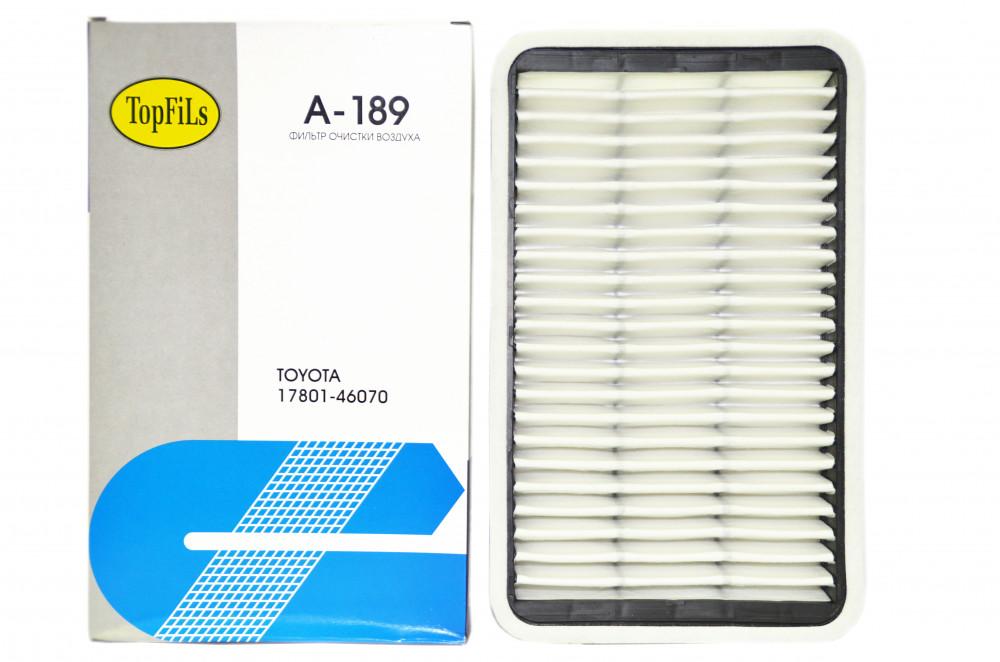 Фильтр воздушный TOP FILS A-189 17801-46070 A-189 купить в Абакане