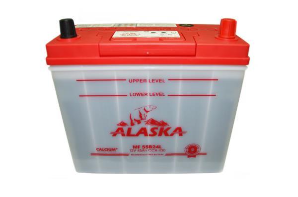 Аккумулятор ALASKA MF 234 / 127 / 220, 45А / ч, ССА 430А, Обслуж-й, Обр. 55B24L calcium + 8808240010467 купить в Абакане