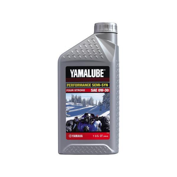 Моторное масло Yamalube 0W-30, Semisynthetic Oil (0, 946 л) LUB00W30SS12 купить в Абакане