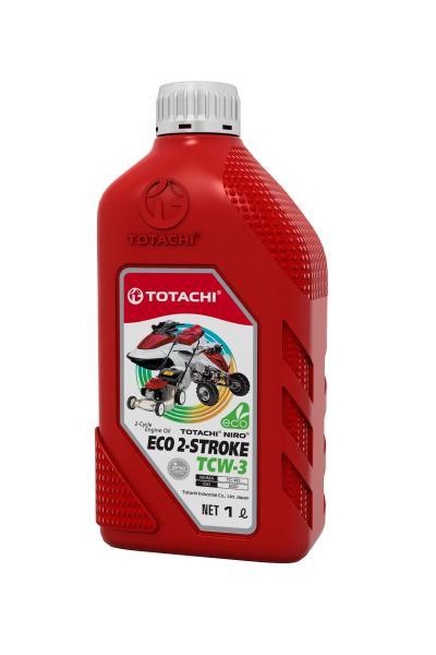 Моторное масло Масло моторное 2-тактное TOTACHI NIRO ECO 2-STROKE TCW-3 1л пласт. канистра 1C201 купить в Абакане