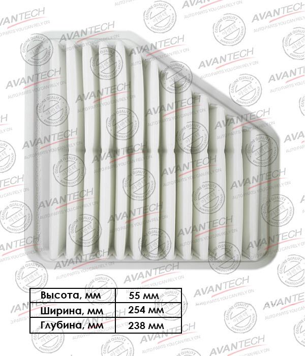 Фильтр воздушный Avantech-AF0163 AF0163 купить в Абакане