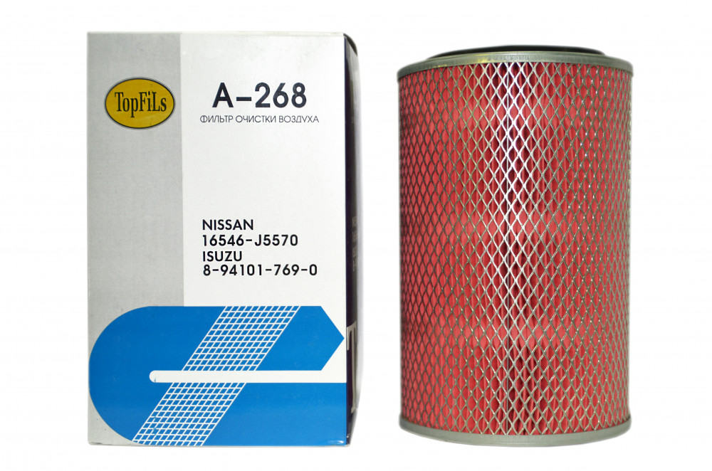 Фильтр воздушный TOP FILS A-268 16546-J5570 A-268 купить в Абакане