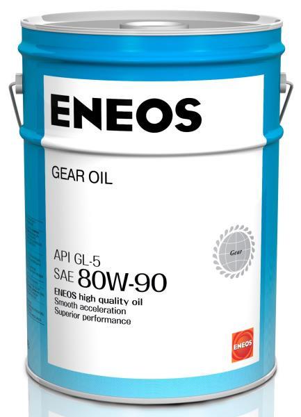 Масло трансмиссионное ENEOS GEAR GL-5 80W90 20л oil1375 купить в Абакане