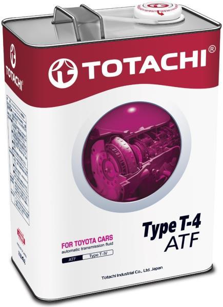 Жидкость для АКПП TOTACHI ATF TYPE T-IV синт. 4л 4562374691025 купить в Абакане