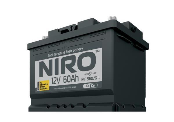 Аккумулятор NIRO MF 56076, 60а / ч L 4589904925238 купить в Абакане