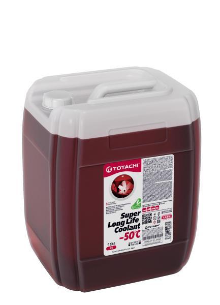 Жидкость охлаждающая низкозамерзающая TOTACHI SUPER LONG LIFE COOLANT Red -50C 10л 4589904520815 купить в Абакане