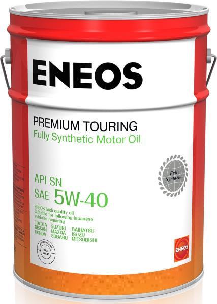 Моторное масло Масло моторное ENEOS Premium TOURING SN 5W-40 20л 8809478942476 купить в Абакане