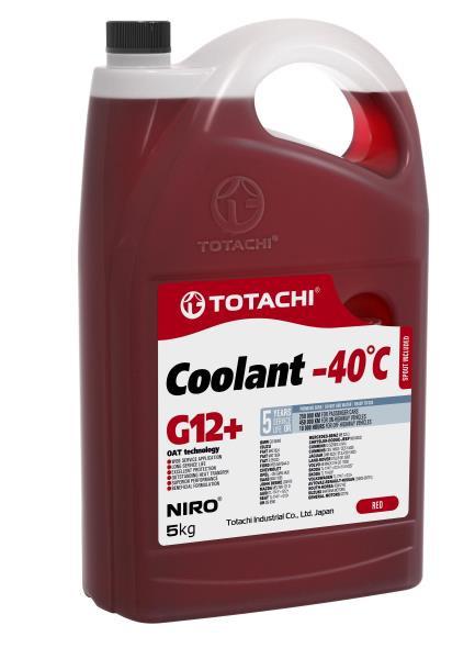 Охлаждающая Жидкость TOTACHI NIRO Coolant Red -40C G12+ 5кг 4589904526770 купить в Абакане