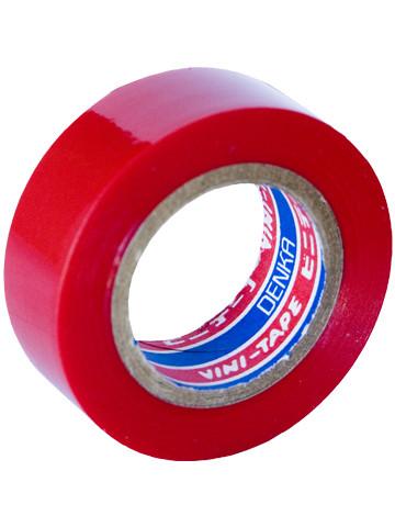 Лента изоляционная Denka Vini Tape, 19 мм, 9 м, красная #102-Red 9m купить в Абакане