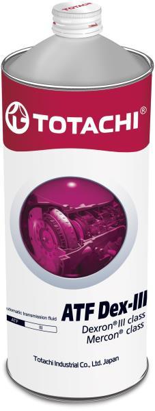 Жидкость для АКПП TOTACHI ATF DEX- III минерал. 1л 4562374691179 купить в Абакане