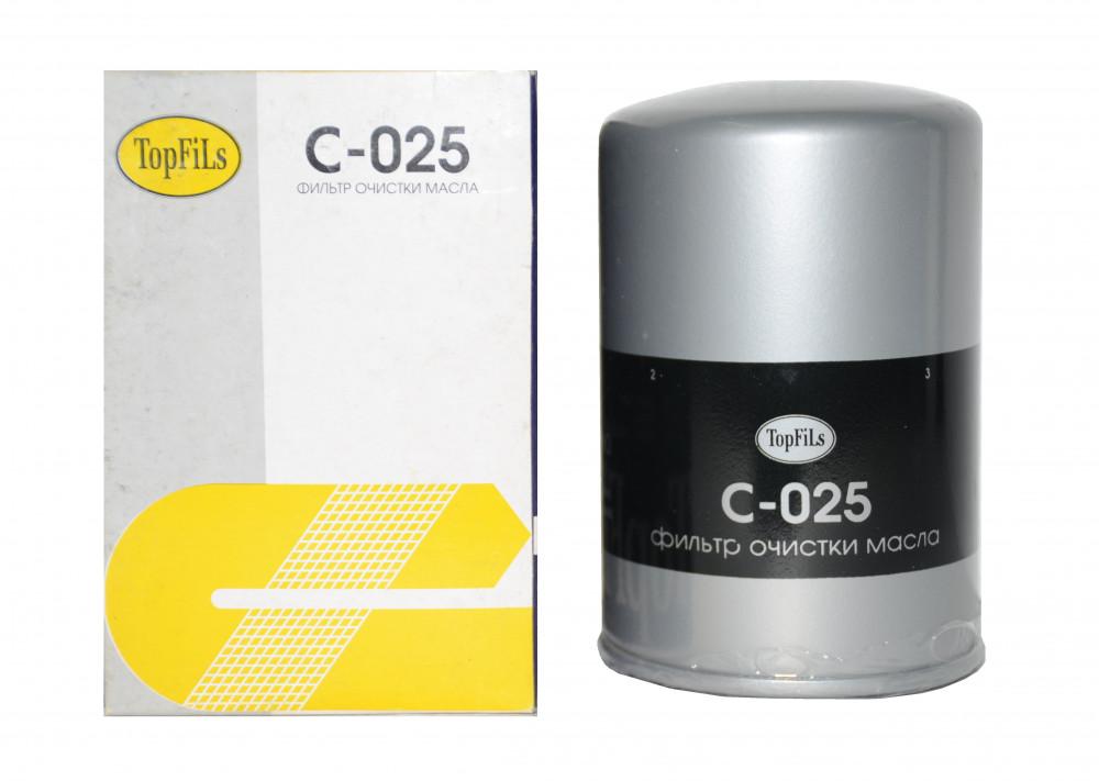 Фильтр масляный TOP FILS C-025 15208-V4960 C-025 купить в Абакане