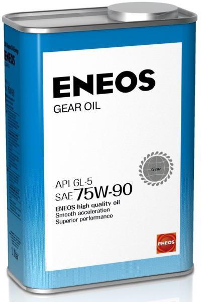 Масло трансмиссионное ENEOS GEAR GL-5 75W90 1л oil1366 купить в Абакане