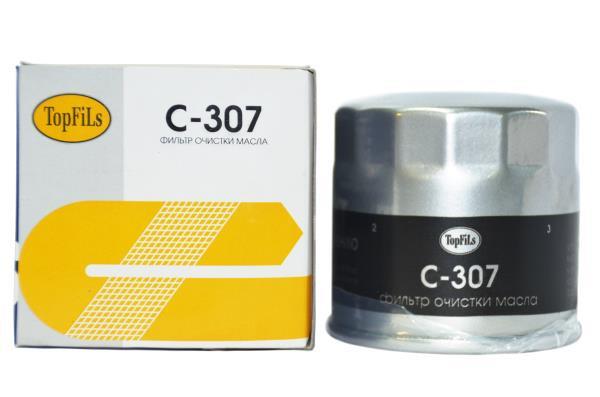 Фильтр масляный TOP FILS C-307 MD001445 C-307 купить в Абакане