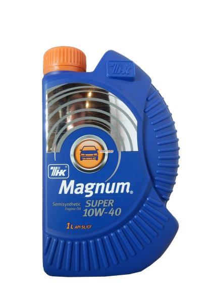 Моторное масло Масло моторное синтетическое - ТНК Magnum Super 10W-40 S / SYN SL 1л 40614732 купить в Абакане