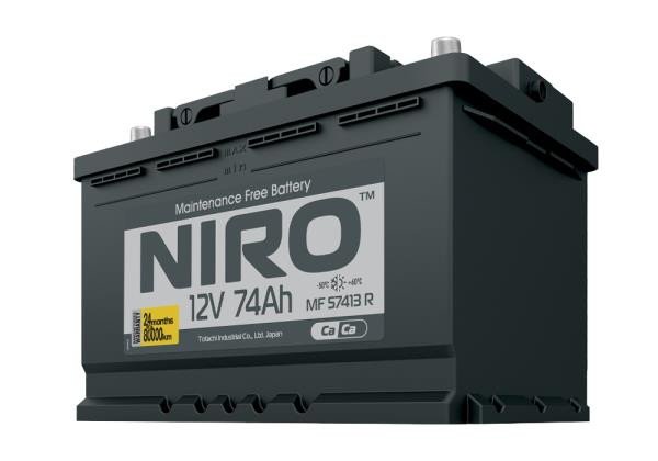 Аккумулятор NIRO MF 57413, 74а / ч R 4589904925269 купить в Абакане